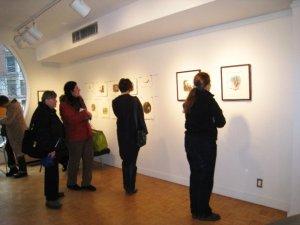 Rachel Berman's illustrations on display
