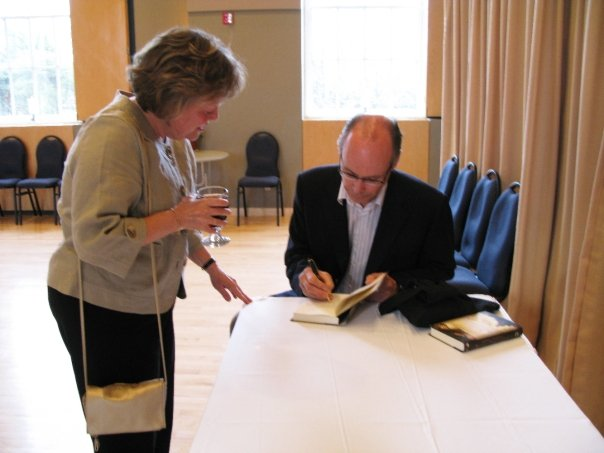 Andrew H. Vanderwal's first signing at the launch