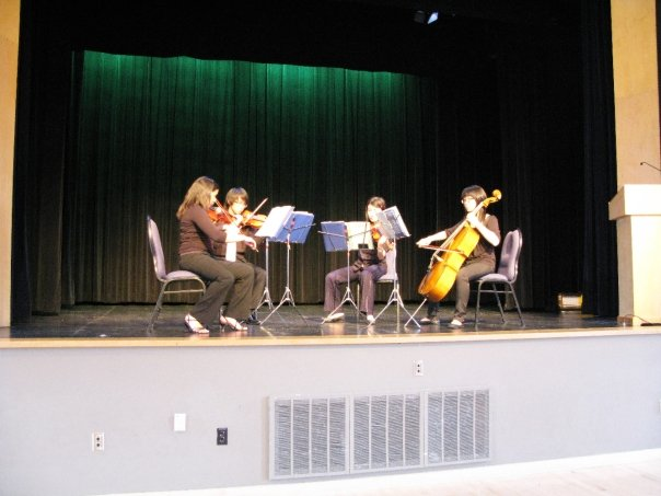 MCI Senior Strings Quartet