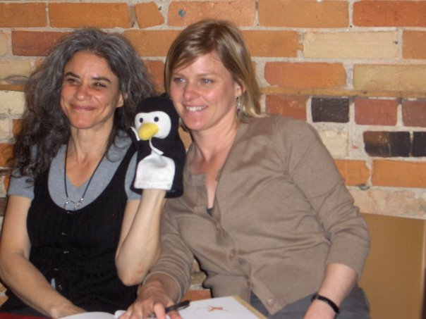 Joanne Schwartz, Winston, and Joanne Beingessner