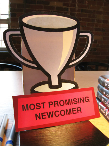 Most Promising Newcomer Trophy