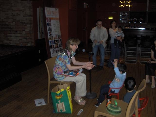 Marla Stewart Konrad at TINARS for Tots