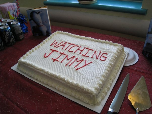 Watching Jimmy cake