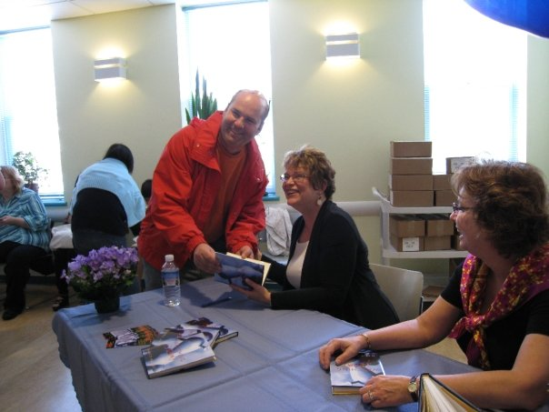 Nancy Hartry signing