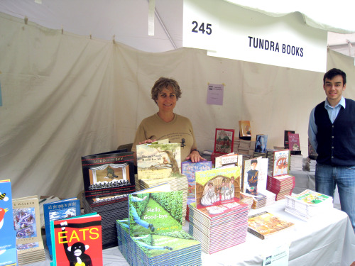 Tundra booth - Kathy and Horia