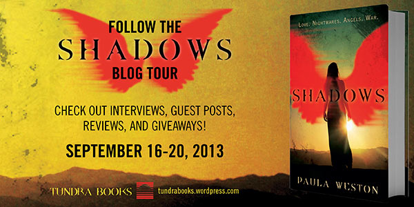 Shadows Blog Tour Banner