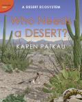 Who Needs a Desert