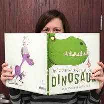 PRHC Contracts Director got behind If You Happen to Have a Dinosaur