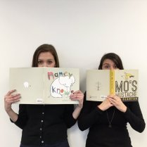 Publicity Assistants got behind Nancy Knows and Mo's Mustache