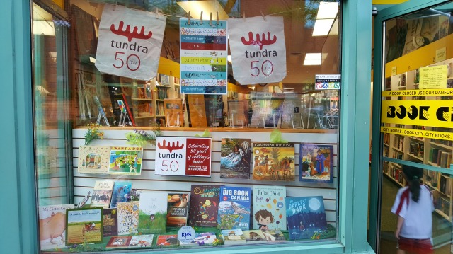Tundra Window Book City Danforth